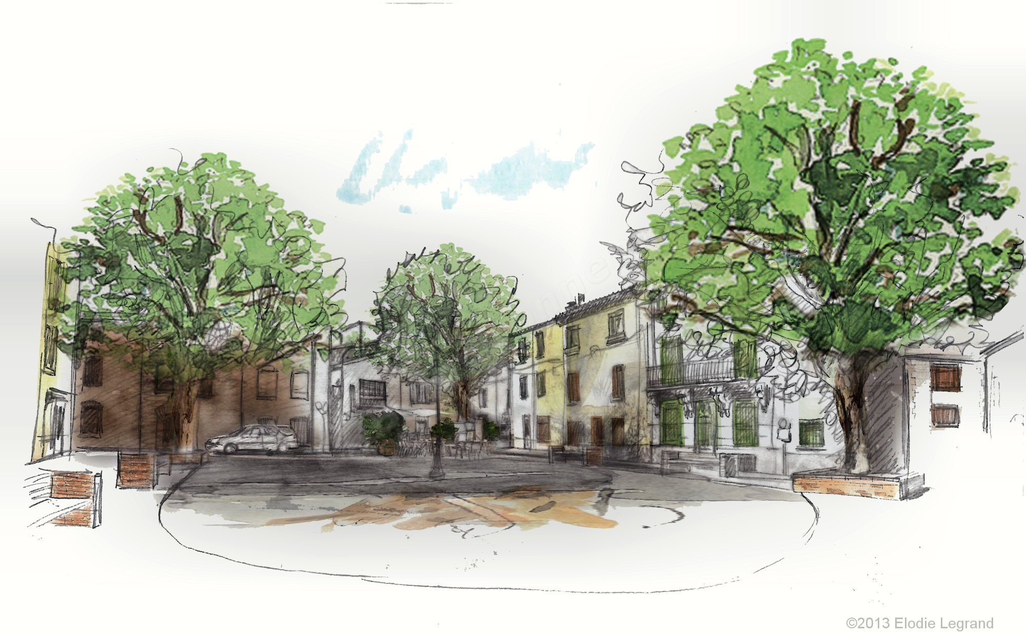 Volet paysager crb environnement for Croquis jardin paysager